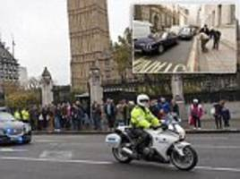 Cameron forced to bring back motorbike outriders after jogger ran into him sparking major security inquest