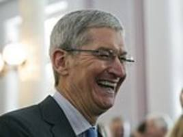 Russian politician says Apple CEO Tim Cook 'should be banned' from country after coming out as gay because he could bring 'Aids, Ebola or gonorrhea'