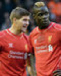Steven Gerrard: What Mario Balotelli is REALLY like in training