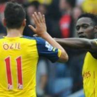 Statistically Best Arsenal Players This Season With New Boy Welbeck Competing With Surprise Entry Ozil