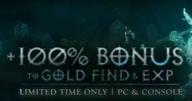 Diablo 3 Gets Halloween Buff to XP and Gold Find on All Platforms